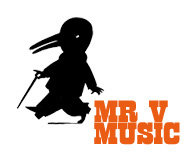 Mr v Music logo