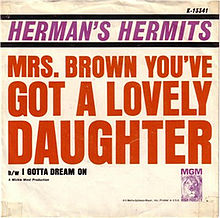 Mrs_Brown_You've_Got_a_Lovely_Daughter_cover
