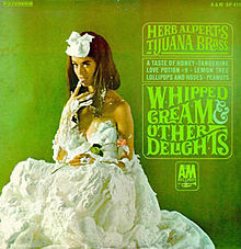 Herb Alpert - Whipped Cream & Other Delights - Model Dolores Erickson